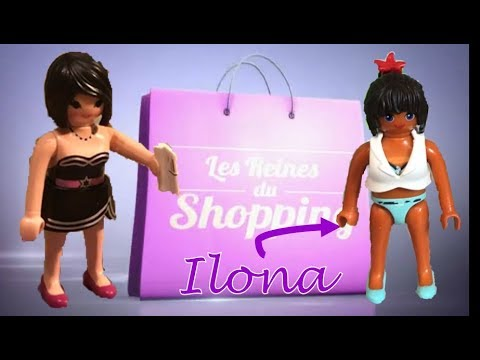 les reines du shopping playmobil 3 5 100 playmo youtube. Black Bedroom Furniture Sets. Home Design Ideas