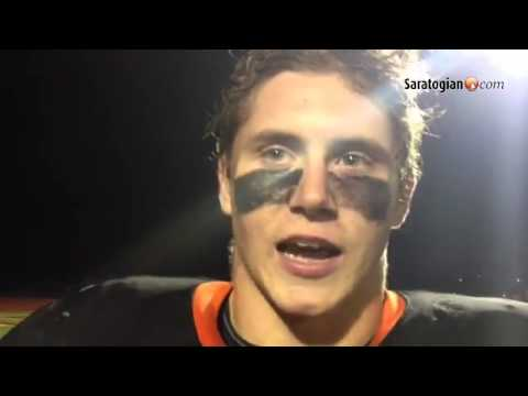 VIDEO Josh Thomas talks about undefeated Schuylerville