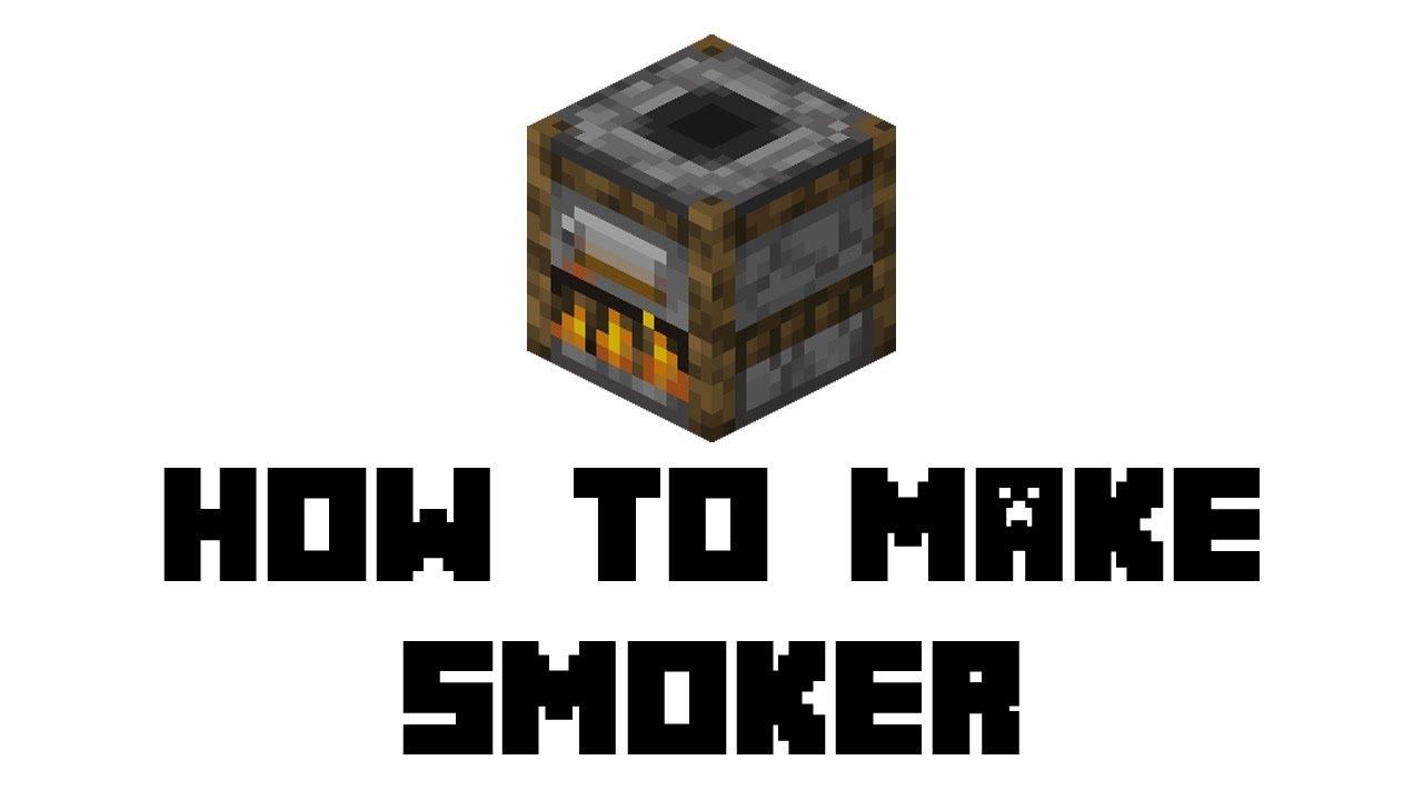 Minecraft Survival: How to Make Smoker