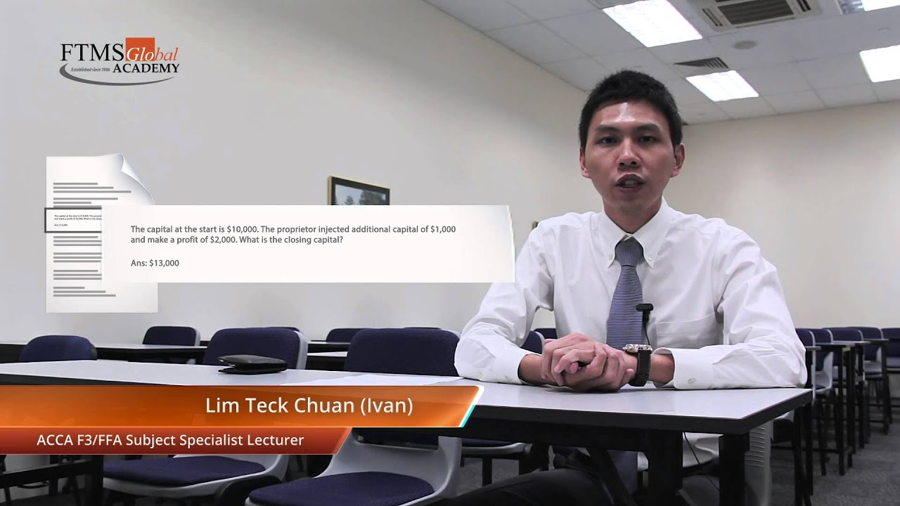 ACCA F3 Exam Format Changes 2014 by Subject Specialist Ivan Lim Part 2