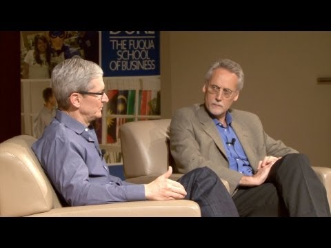 Apple CEO Tim Cook on Ethical Leadership