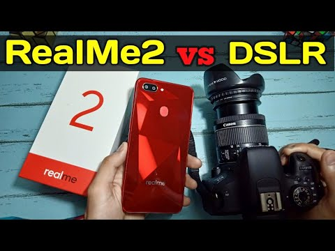 Realme 2 vs DSLR in hindi | Camera Comparison of Oppp Realme2 and DSLR | REALME 2 CAMERA HINDI