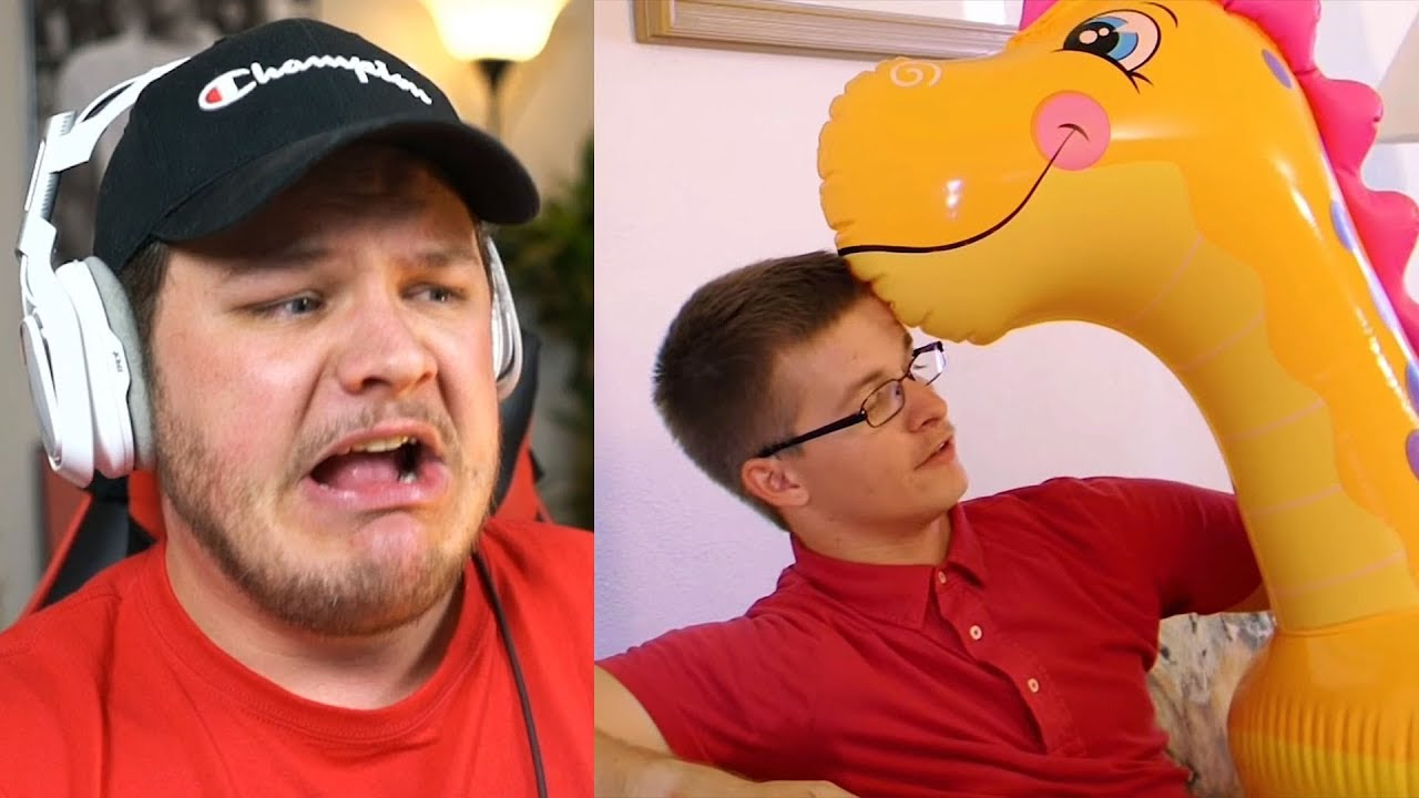 in-love-with-inflatable-animals-reaction