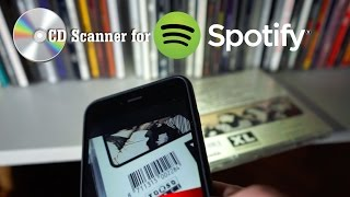 CD Barcode Scanner for Spotify (iPhone app)