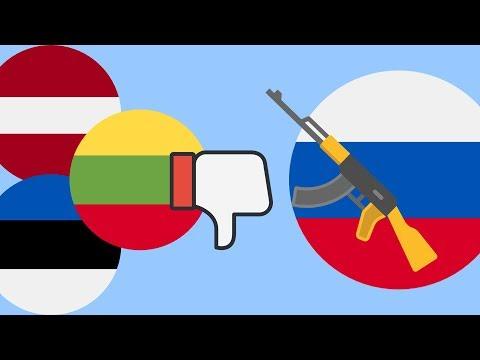 Почему прибалты ненавидят русских ?