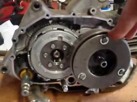 klx 110 engine removel clutch removel pit bike YouTube