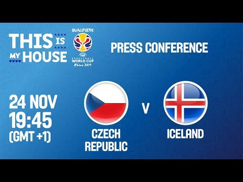 Czech Republic v Iceland - Press Conf - FIBA Basketball World Cup 2019 - European Qualifiers