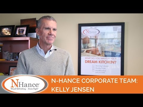 N-Hance Corporate Team: Kelly Jensen, SVP of Franchise Operations