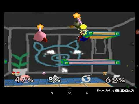 3 Escenarios De Super Smash Bros 64
