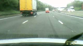 M5 jct 4 - 3 crash