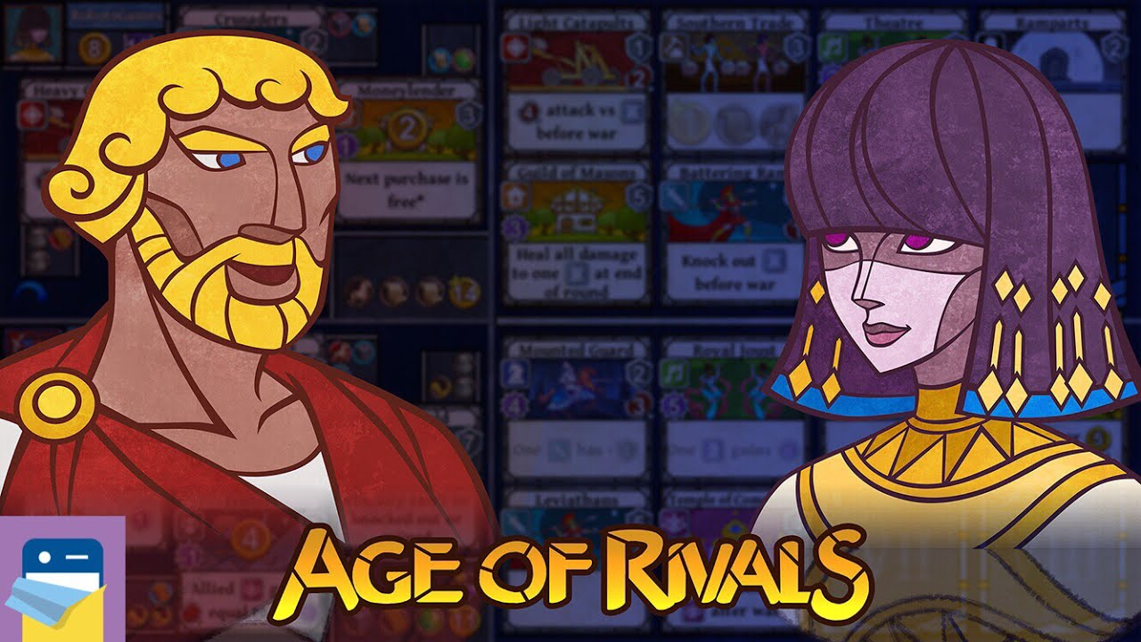 Age of Rivals: iOS iPhone Gameplay Walkthrough (by Roboto Games)