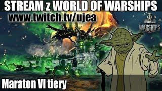 World of Warships - Maraton VI tiery