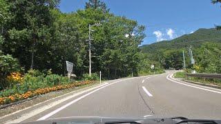 長野県道26号 奈川木祖線 車載動画 [2016-08]