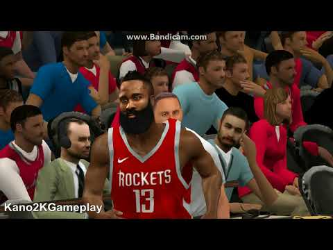 James Harden Breaks Wesley Johnson Ankles ( Mag Retired ka na ) | NBA 2K14 PC Mod To NBA 2K18