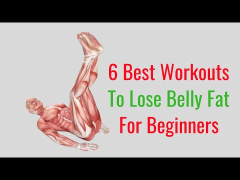 6 Easy Workout Routines for Beginners to Help Lose Belly Fat