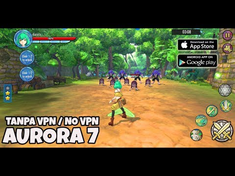 English Version - AURORA 7 Gameplay android ( Download apk data No VPN / Tanpa VPN ) - 동영상