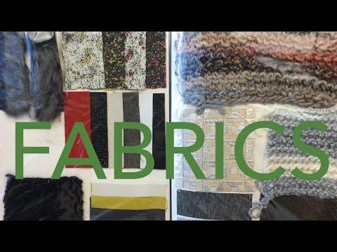 Fashion Design Tutorial 4: Fabrics & Materials