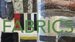 Fashion Design Tutorial 4: Fabrics & Materials