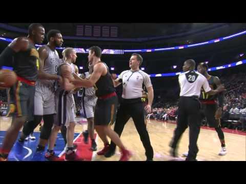 Atlanta Hawks vs Detroit Pistons | March 26, 2016 | NBA 2015-16 Season