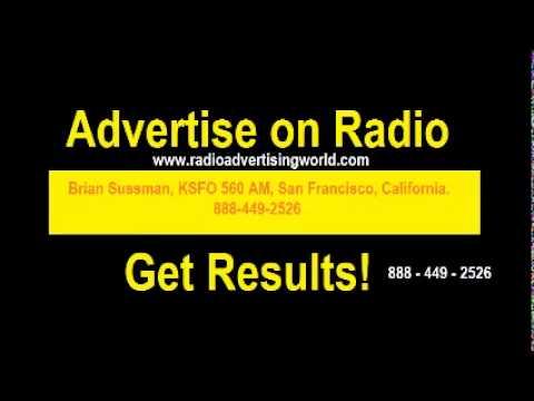 advertise on Brian Sussman, KSFO 560 AM, San Francisco, California
