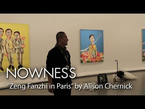 Zeng Fanzhi explains the theory and thought behind his work