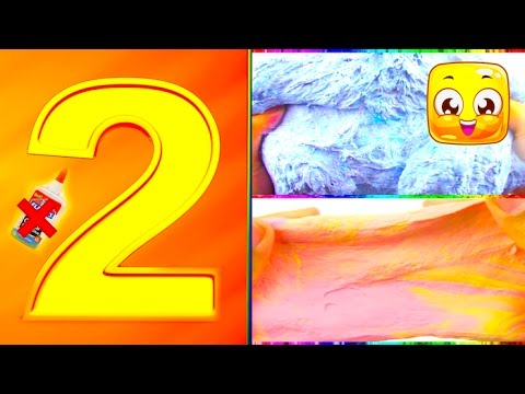 2 ways to make slime without glue diy how to make slime 2 ways to make slime without glue diy how to make slime compilation no glue no borax slime recipe jellyrainbow ccuart Images