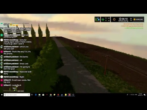 Farming Simulator 2017 NEW MAP PREVIEW!!! WIP West Central Tour