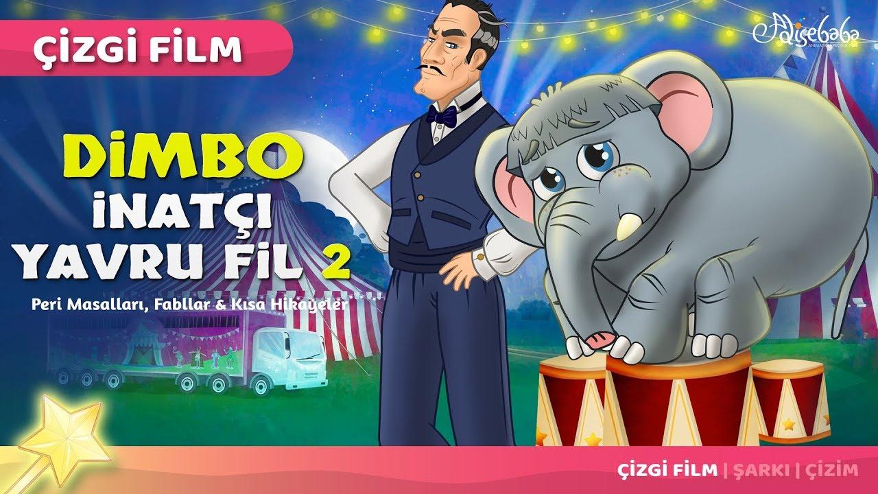 Adisebaba Çizgi Film Masallar - Bölüm 52: İnatçı Yavru Fil 2 - Dimbo