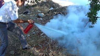 Yangın Söndürme Tüpü Nasıl Kullanılır - osman çakır