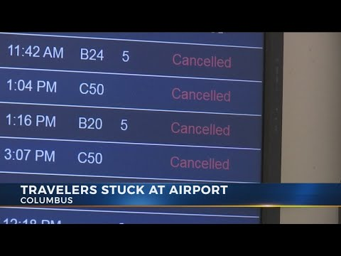 Columbus flights to and from the east coast affected by winter weather