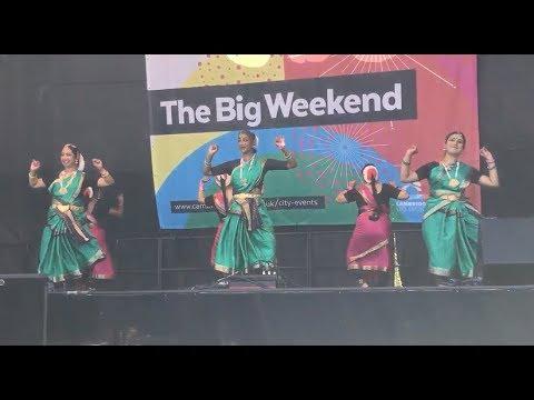 Senthamizh Nadenum Pothinile, Bharatanatyam Performing at Cambridge