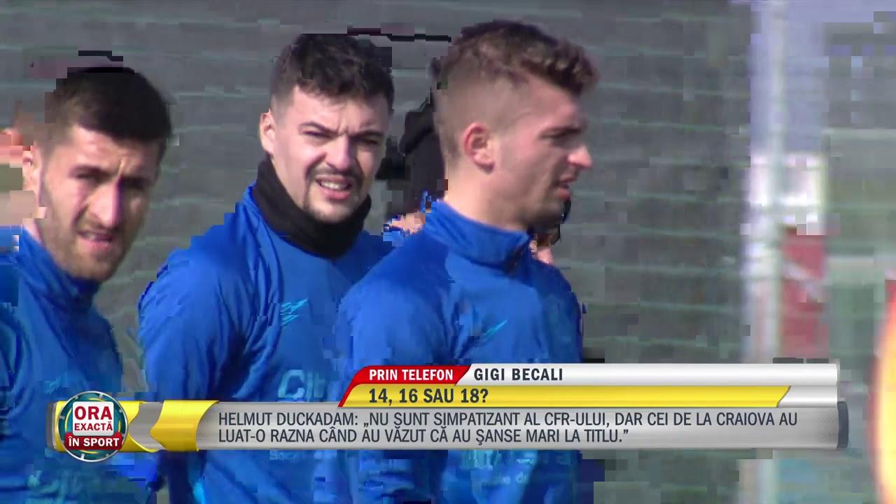 Becali: FCSB e Steaua! I-am zis lui Mutu ca tara arde si baba se piaptana!