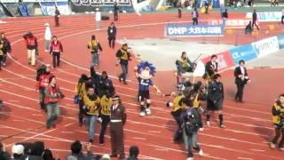 大阪ダービー 遠藤とアドリアーノの試合後の挨拶