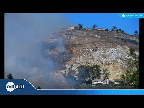 993 مفقوداً في حريق غابات كاليفورنيا  - نشر قبل 2 ساعة