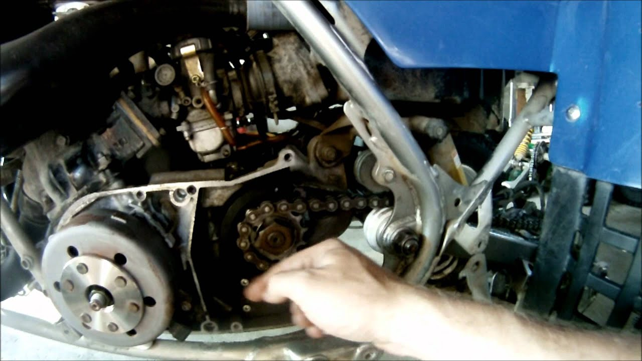 yamaha banshee case saver install how to [ 1280 x 720 Pixel ]