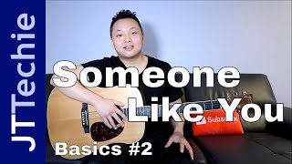 How to Play Someone Like You by Adele on Acoustic Guitar for Beginners | Easy Tutorial | BASICS #2