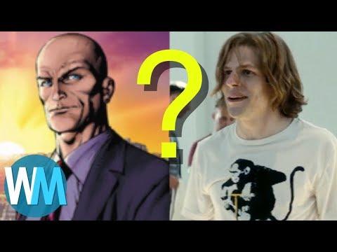 Top 10 Worst Super Villain Casting