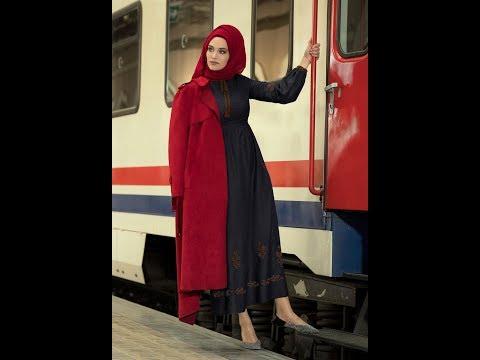 Alvina Tesettür Elbise Modelleri 2018