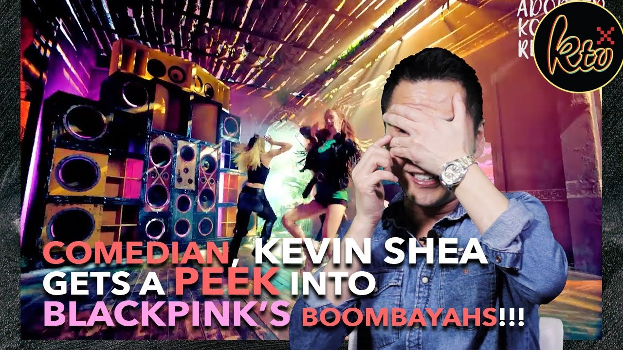 huge discount cb7a6 76431 Adopted Korean Kevin Shea Reacts to Black Pink's Boombayah ...