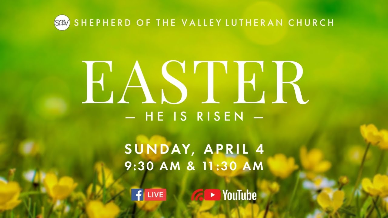 Easter Sunday Worship (9:30 AM) - April 4, 2021