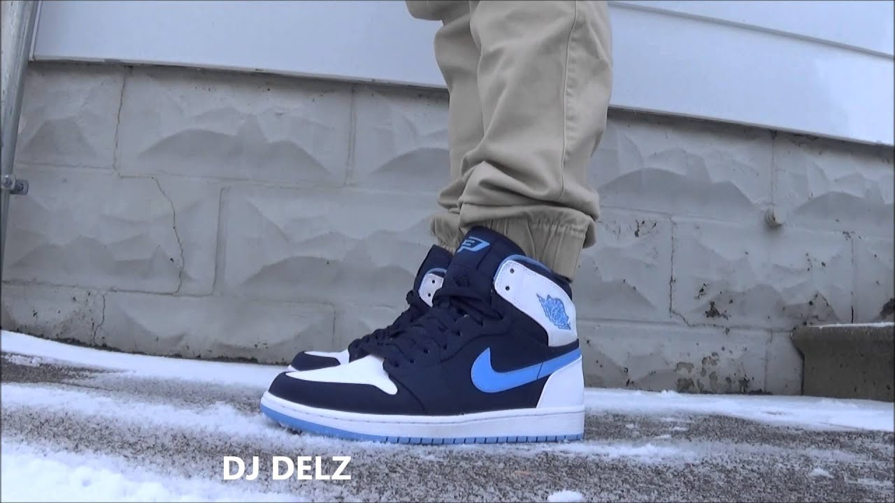 7bf0c202a58308 Air Jordan 1 High CP3 PE Chris Paul Retro Sneaker On Feet With  DjDelz