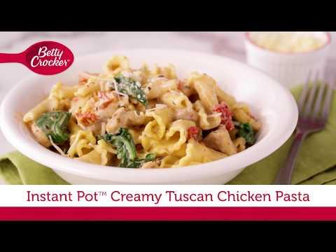 Instant Pot™ Creamy Tuscan Chicken Pasta | Betty Crocker Recipe