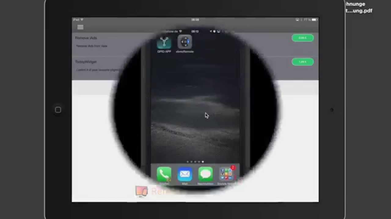 apps zur steuerung des raspberry pi mit dem iphone oder ipad youtube. Black Bedroom Furniture Sets. Home Design Ideas