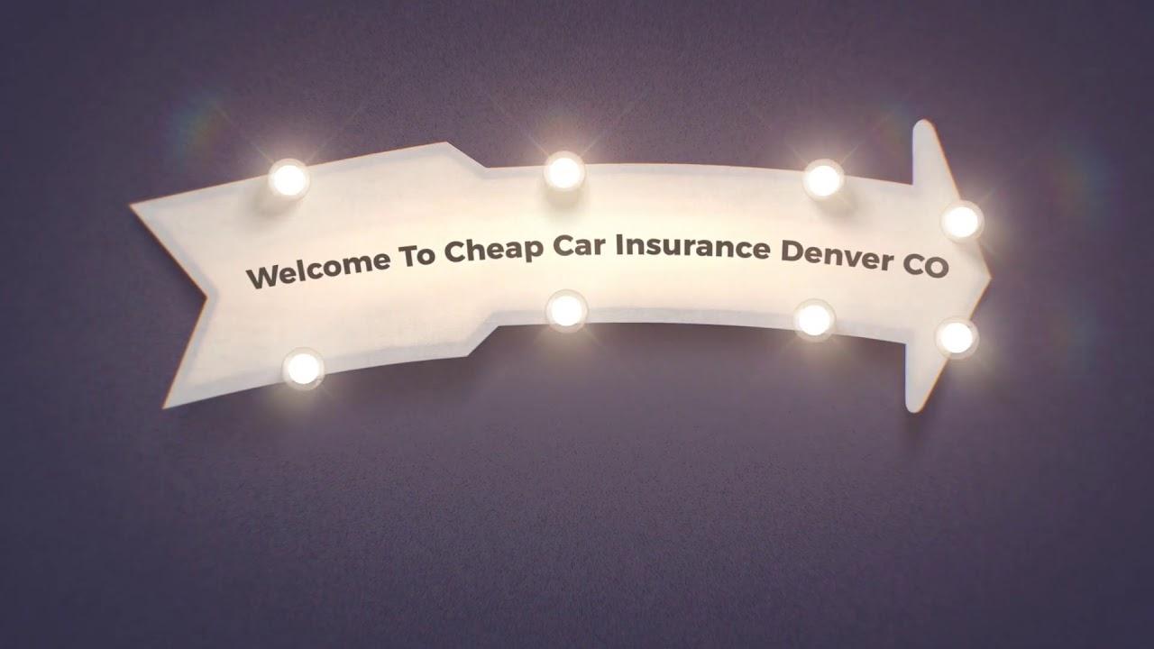 Cheap Car Insurance in Denver CO