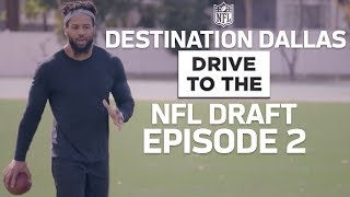 Earl Thomas Mentors Derwin James & Prospects Continue Combine Prep   Drive to the NFL Draft Ep. 2