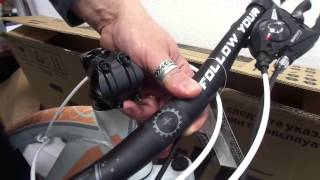 Сборка велосипеда из коробки - основные моменты и тонкости(Для Вадима эта процедура сборки велосипеда является давно привычной и отточенной. Поэтому, посмотрев это..., 2016-01-27T19:44:35.000Z)