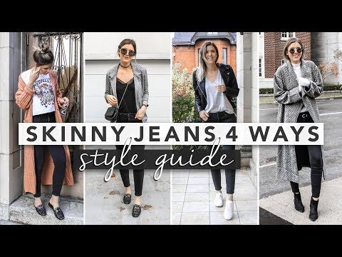Style Guide | Basic Black Skinny Jeans 4 Ways