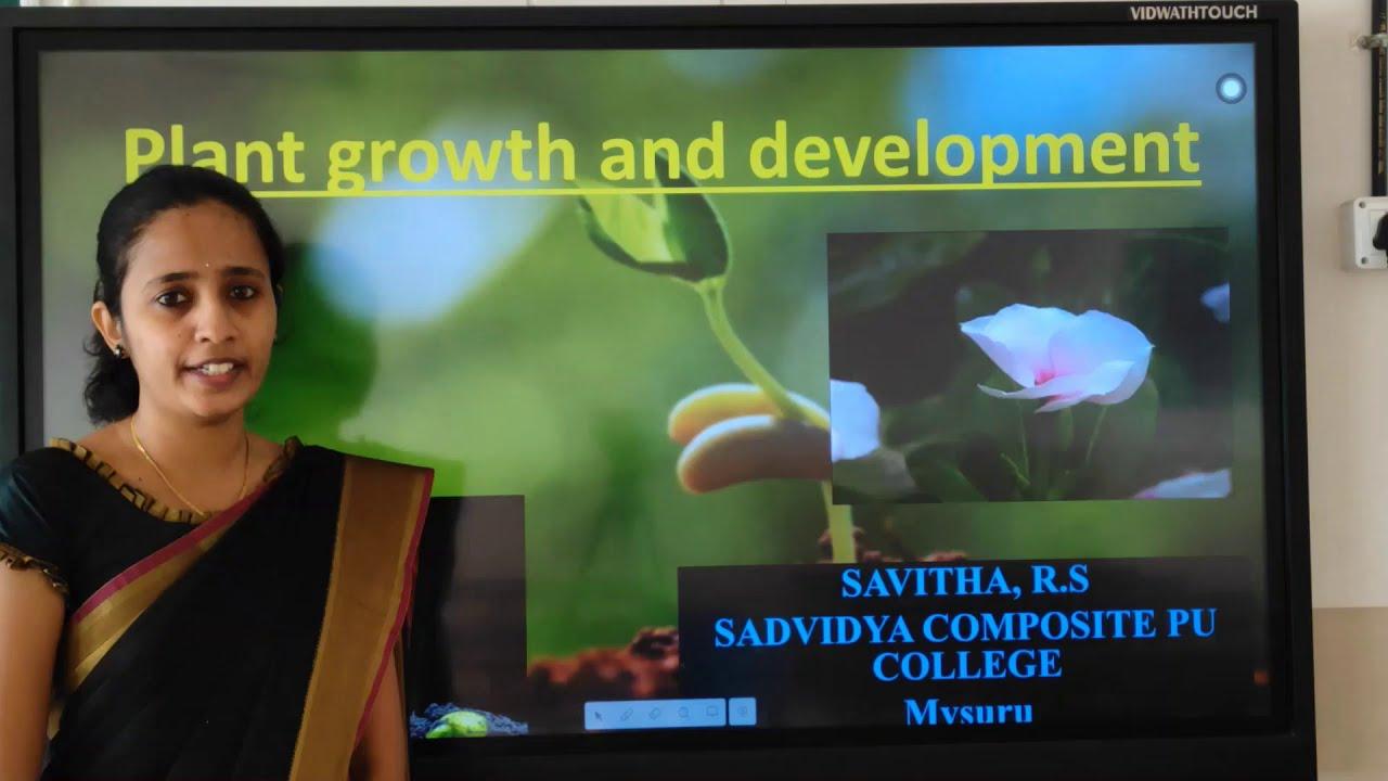 I PUC | Biology | Plant growth and development - 03