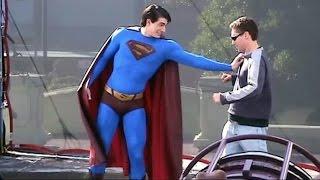 Superman classic skin suit 'Superman Returns' Behind The Scenes