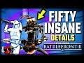 50 INSANE DETAILS About Droidekas - Star Wars Battlefront 2